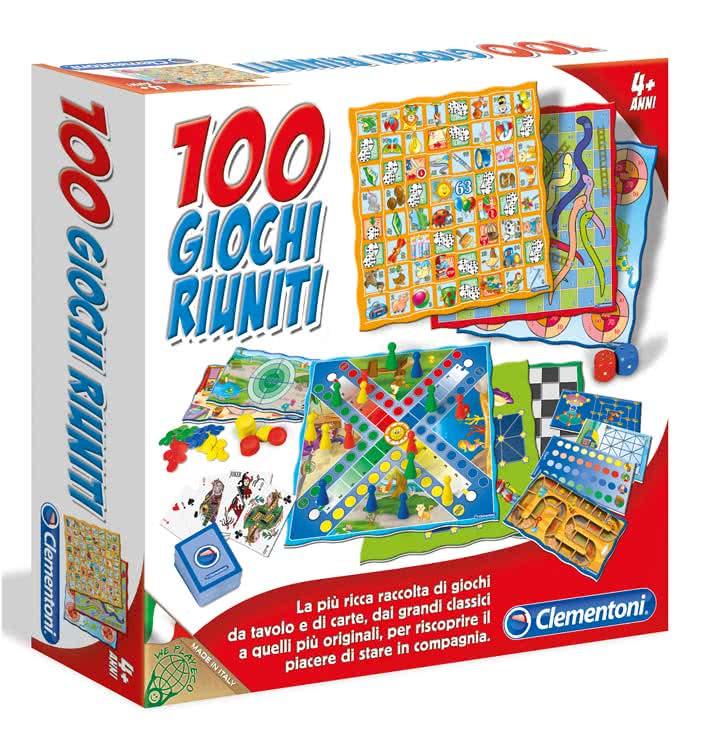 100 giochi riuniti novit 2011 clementoni giochi da tavolo for Giocattoli per bambini di 5 anni