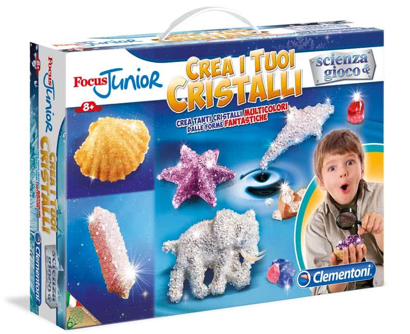 Crea i tuoi cristalli scienza e gioco focus junior for Crea i tuoi progetti