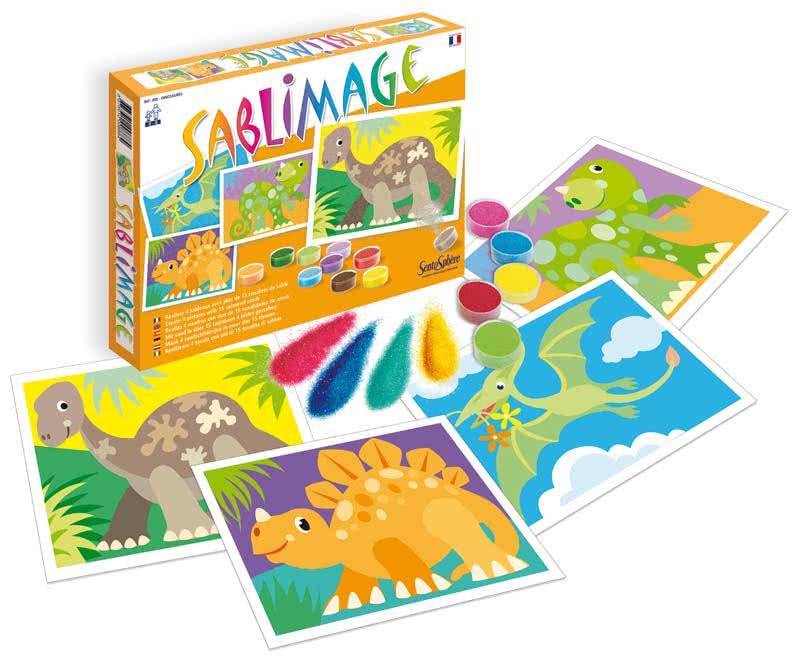 Sablimage dinosauri giochi creativi sentosphere for Giocattoli per bambini di 5 anni