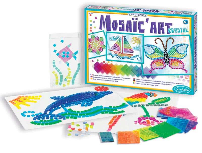 Arte del mosaico giochi creativi sentosphere for Giocattoli per bambini di 5 anni