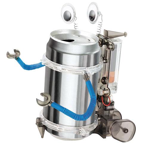 Lattina robot giochi scientifici 4m for Soprammobili fai da te
