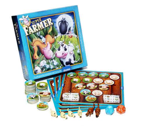 Super farmer creativamente premio miglior gioco per famiglie - Miglior gioco da tavolo ...