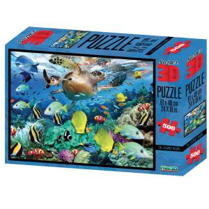 Puzzle 3D - Barriera corallina