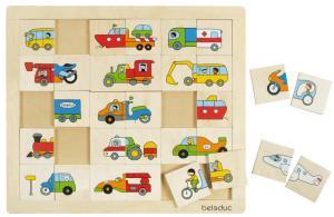 Puzzle - Trova e mescola veicoli