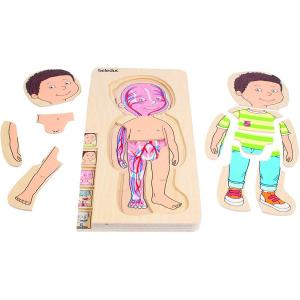 Puzzle 5 in 1 - Bambino