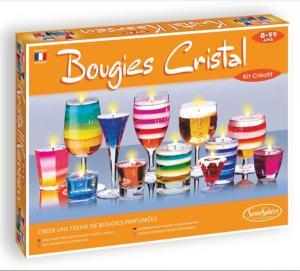 Crea candele di cristallo