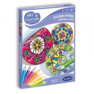 Sticker Vitrail - Mandala