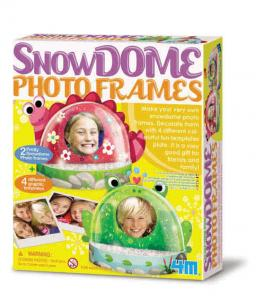 Kit portafoto a sfera di neve