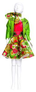 Lucy Funky - abito da cucire Dress Your Doll