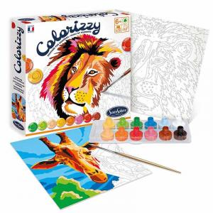Colorizzy - Colorare con i numeri - Savana