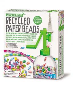 Perline con carta riciclata