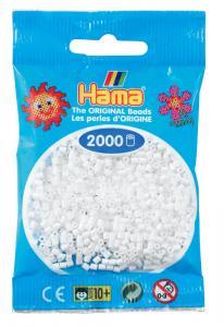 Hama beads MINI 2000 pezzi - bianco n.1