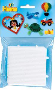 2 basi piccole quadrate MINI Hama beads
