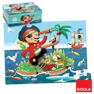 Puzzle 35 pezzi - Pirata