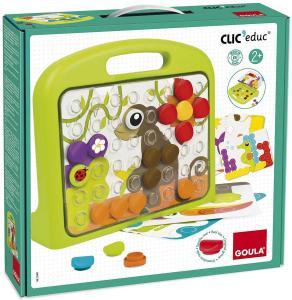 Clic'Educ Mosaico 3D - Animali