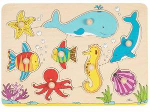 Puzzle mondo marino Goki