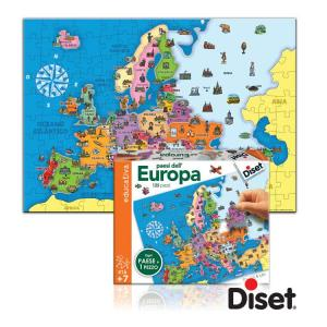 Puzzle Geografico Europa