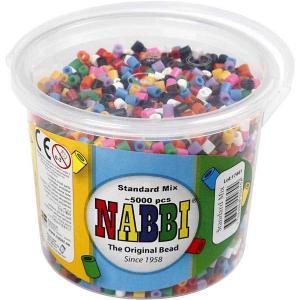 Secchello Nabbi beads in colori misti 5000 p.