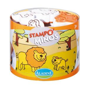 Stampominos - Animali della savana