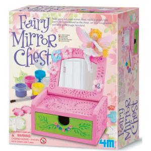 Cassettone a specchio con fata da costruire