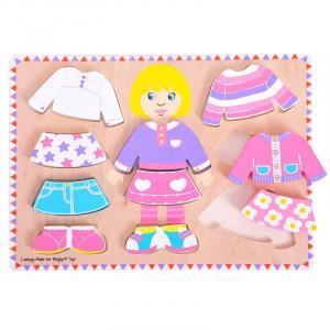 Puzzle - Bambina da vestire