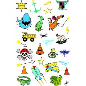 Stickers Tatoo Girl boy