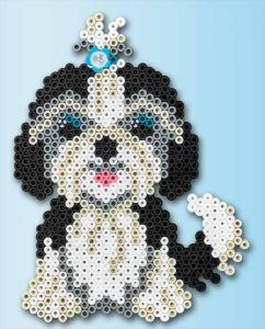 Confezione regalo Hama Beads Midi - Cagnolini