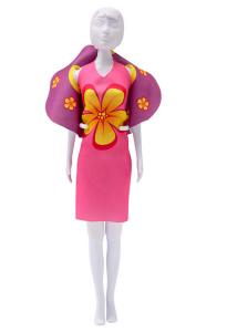 Dolly flowers Dress your Doll