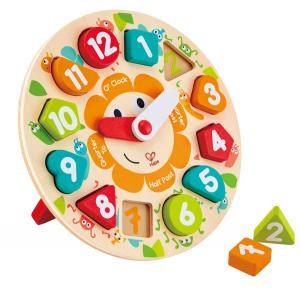hape toys orologio didattico