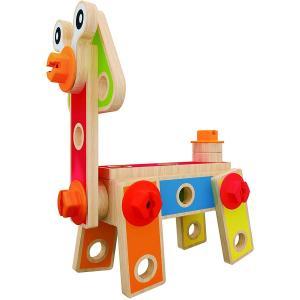 Set per costruzioni in legno e plastica