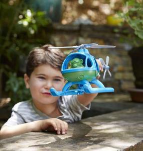 Elicottero blu Green Toys
