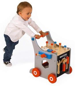 Primo carrello bricolage Diy trolley