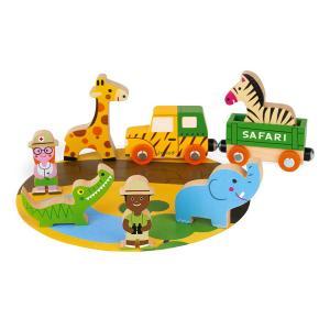 Mini set Safari - Giocattoli di legno