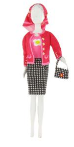 Jacky Pied De Poule Dress your Doll