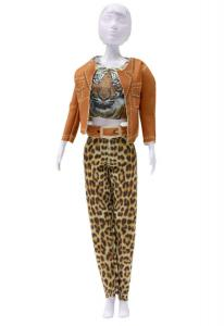 Kitty Tiger Dress your Doll