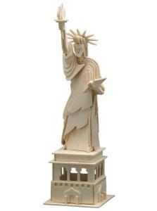 Puzzle 3D in legno Statua della libertà
