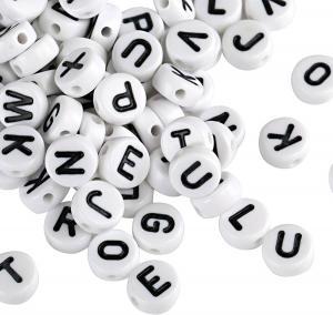 perline lettere dell'alfabeto