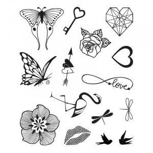 Stampo Tattoo Romantico