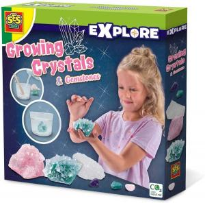 Kit coltivazione di cristalli - Giocattoli scientifici Ses