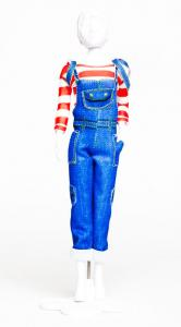 Tilly Jeans Dress your Doll
