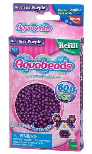 Ricarica Aquabeads - 600 Perline circolari Viola