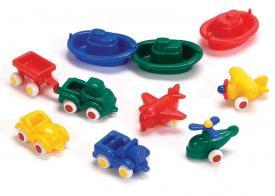 10 veicoli - mini chubbies