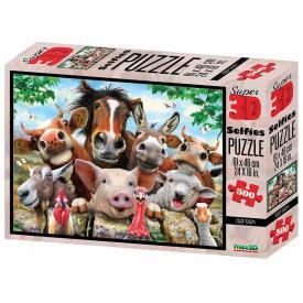 Puzzle 3D - Cuccioli della fattoria