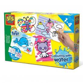 Colorare con l'acqua - Fantasy