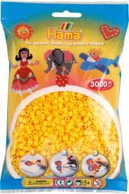 Hama Beads Midi 3000 pezzi - Giallo n.3