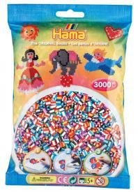 Hama Beads Midi 3000 pezzi Striate 90