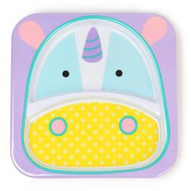 Piatto piano con divisorio unicorno Skip Hop