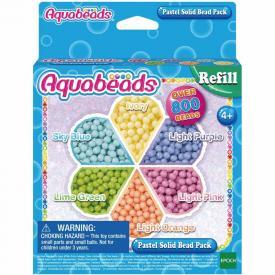 Ricarica Aquabeads - Perline circolari pastello
