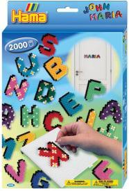 Lettere hama beads