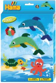 delfini hama beads